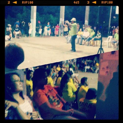 Campaign Rally in Bagumbayan. go go go Jerry Augusto! Mmk Election2013 Papako