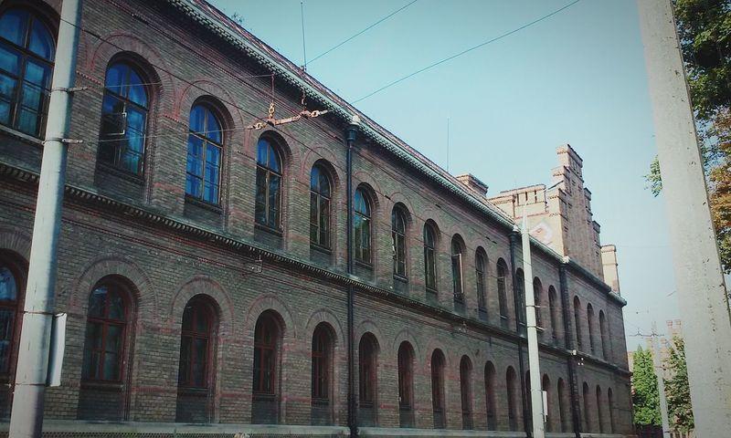 Walked along the street where our university is located 😊 Chernivtsi  Ukraine Chernivtsi State University університет чну Lookslike Hogwarts Hehe