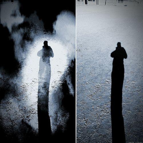 OMBRA O DEMONE..... Tutti Noi Ne Abbiamo Apparentemente So Uno Ma Chi Dice Che .....nn Sia Proprio Essi Demone .....angelo Custode.... Solo Noi Possiamo Darne Il Giusto Significato..... Potrebbe Essere Solamente.....un Ombra....figura Inanime.....che Ci.segue.sempre