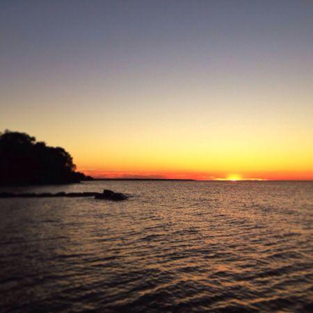 Autumn Sunset... Lorain Lighthouse