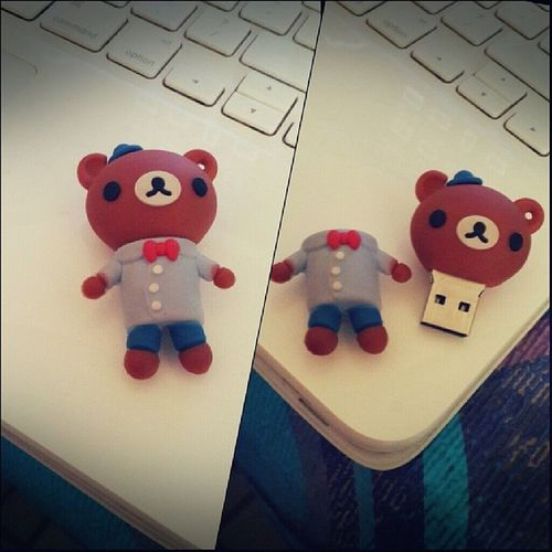 ?? Pendrive Rilakkuma Bear Korikkuma cute usb kawaii accessories memory likeatoy