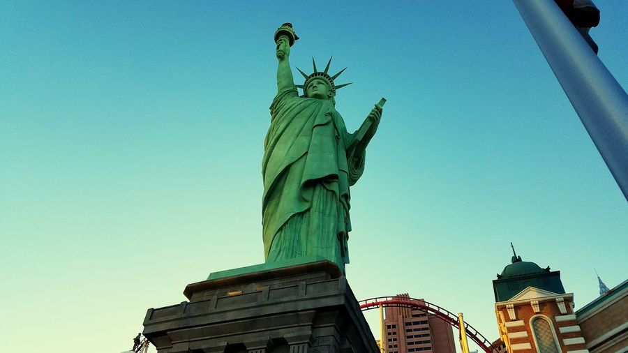 Showcase July Statue Of Liberty on the strip. Statue Of Liberty America Freedom Striplasvegas