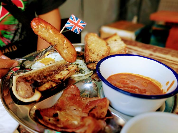 London Food English Breakfast British Flag British Culture Foodporn Finsbury Park EyeEm LOST IN London