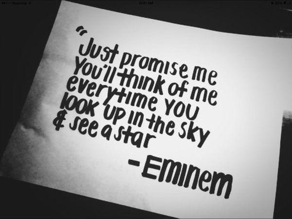 Eminem quote? Eminem Qutoes