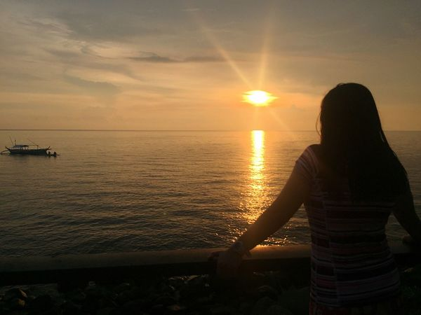 IPhoneography Anilao Beach Photography Watchingsunset