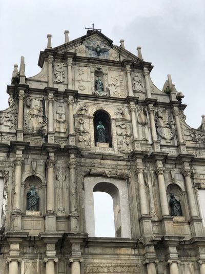 Architecture Built Structure Building Exterior The Past History Low Angle View Arch Outdoors Religion Nature Travel Destinations