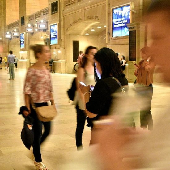 Blurred Motion Motion Speed Adults Only City Night Illuminated Young Adult Young Women Indoors  Business Women Grand Central Station NYC Photography Eyemweek EyeEm Selects EyeEm Business EyeEmNewHere