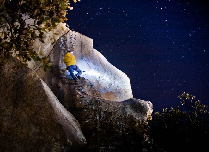 Be. Ready. EyeEm Selects Night Adventure Outdoors Astronomy Beauty In Nature Climbing EyeEmNewHere