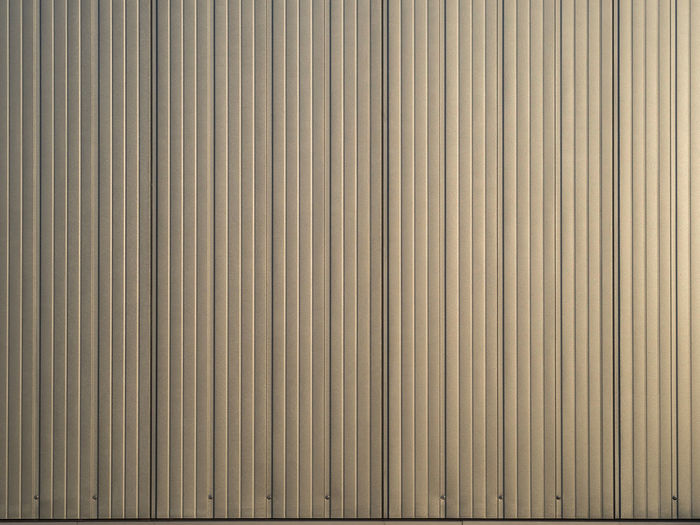 Lines Abstract Architecture Backgrounds Building Exterior Built Structure Close-up Copy Space Day Full Frame Industry Iron Metal No People Pattern Stage Striped Textured  Wall - Building Feature Exterior Building Repetition LINE Parallel Sheet Metal Aluminum Abstract Backgrounds Architectural Detail Alloy