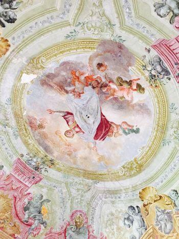 Accademia Bellearti Napoli Academy Affresco Antico