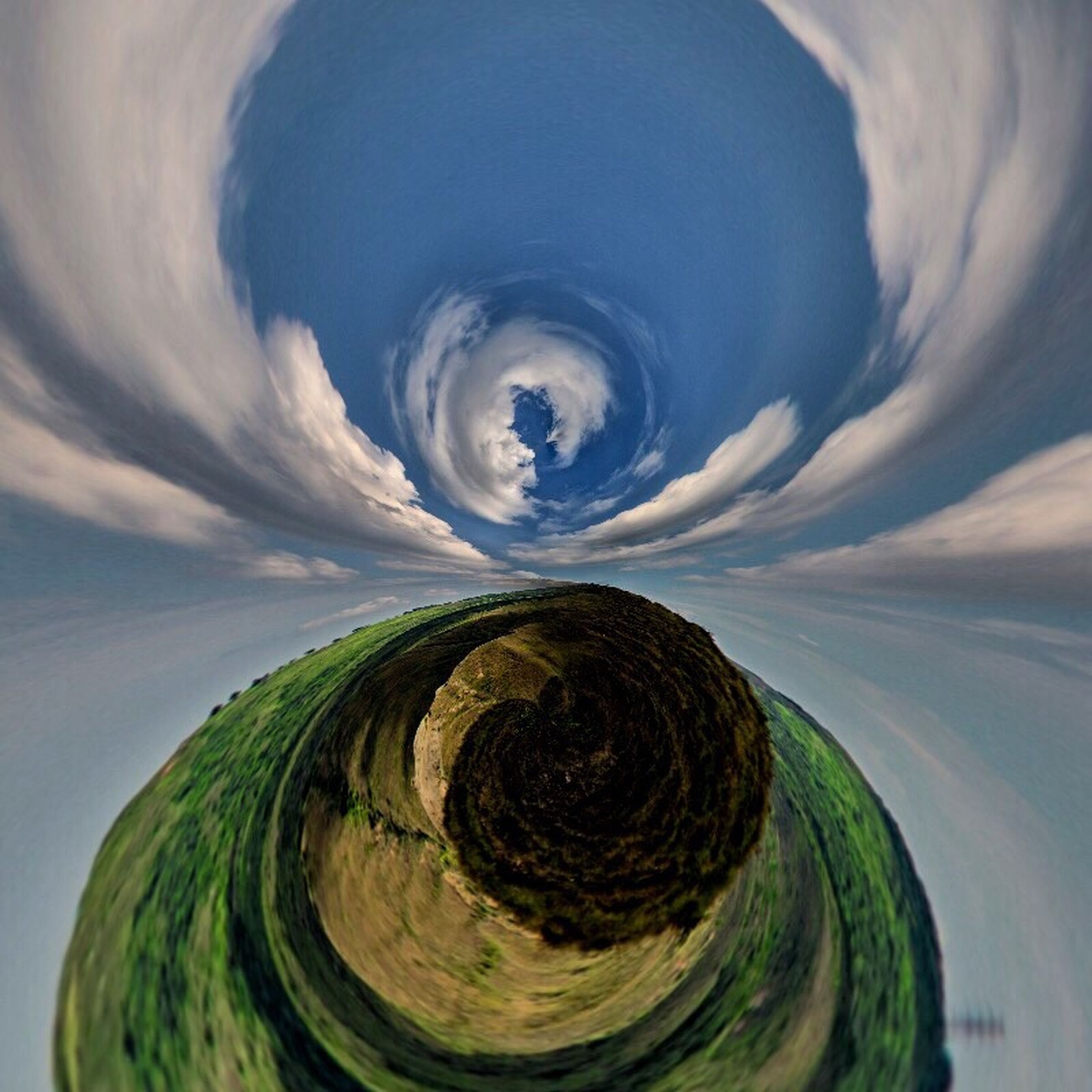 circle, cloud - sky, sky, outdoors, nature, beauty in nature, no people, day, close-up