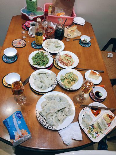 中国🇨🇳年夜饭-饺子