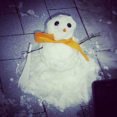Pupazzo di Neve a Scafati Inverno Natale  capodanno