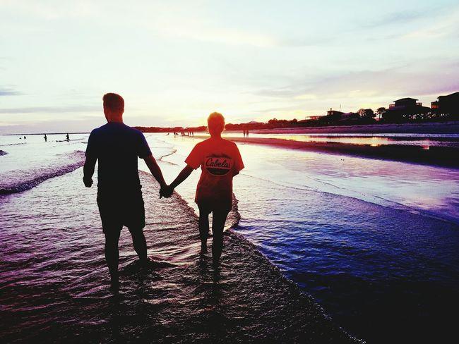 Sunset Silhouettes Sunset Couple Love❤ Cabellas St Johns Island, FL