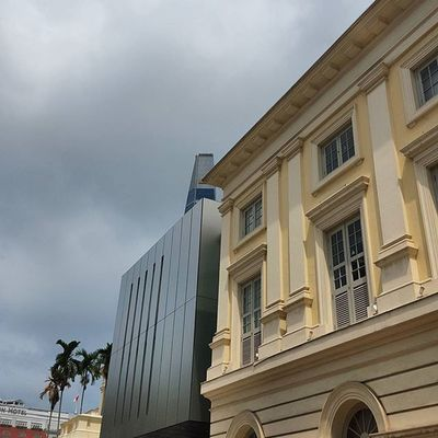 Old and new. Adaptivereuse Architecture Singapura2015 Wanderkat