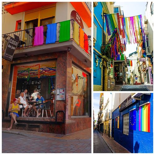 Gay block in Benidorm, Spain. Gay Traveling SPAIN Check This Out