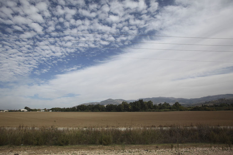 crazy clouds in Israel nice Views of the Holy Land Cloud - Sky Sky Landscape Environment Tranquility Tranquil Scene Scenics - Nature Beauty In Nature Land Field No People Plant Nature Day Non-urban Scene Tree Rural Scene Idyllic Outdoors Agriculture