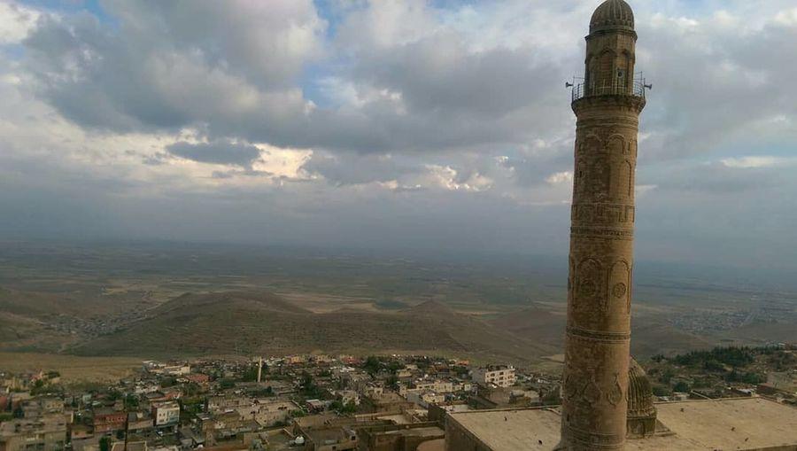 Mardin Mosque Mardintravel Cityscape Sightseeing Rocky Mountains