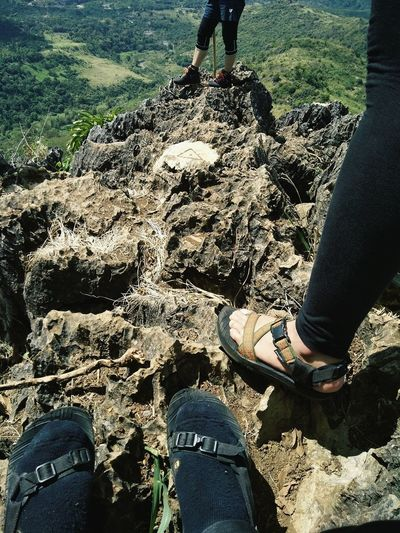 hikers feet Mountain Hike Sandals Feet Legs Human Leg Human Foot Human Body Part Real People Standing Shoe Outdoors