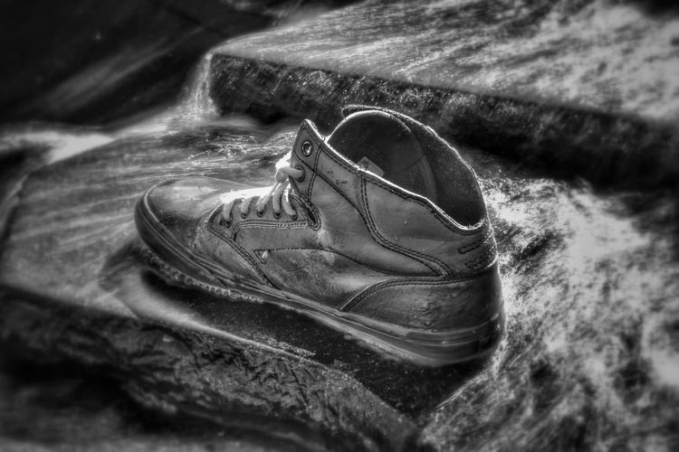 The Right One Footwear One Malephotographerofthemonth Blackandwhite Photography monochrome photography Bnw Closeup Artistic Expression Art is Everywhere Artistic Bnw_collection Foot Wear  Close-up Things That Go Together Pair Footwear Shoe Menswear