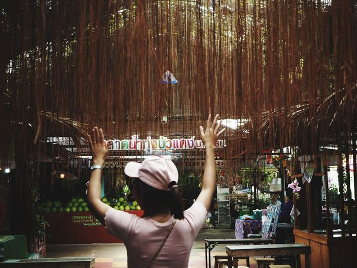 Happy Hour Nightlife Women Alcohol Arts Culture And Entertainment Rear View City Perfume Mojito Cocktail Shaker Perfume Sprayer Bar Counter Bartender Bar - Drink Establishment Mint Leaf - Culinary Lime Tropical Drink Shot Glass Tequila - Drink GIN Tonic Water Beer Tap Martini Glass Vodka Scented Aromatherapy Cocktail Aromatherapy Oil Rum Pint Glass