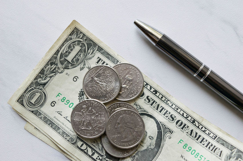 Elegant Green Money Money Money Sophisticated Work Class Close-up Coin Currency Day Finance Indoors  Marble Money No People Paper Currency Pearls Pen Savings Sophistication Texture Wealth