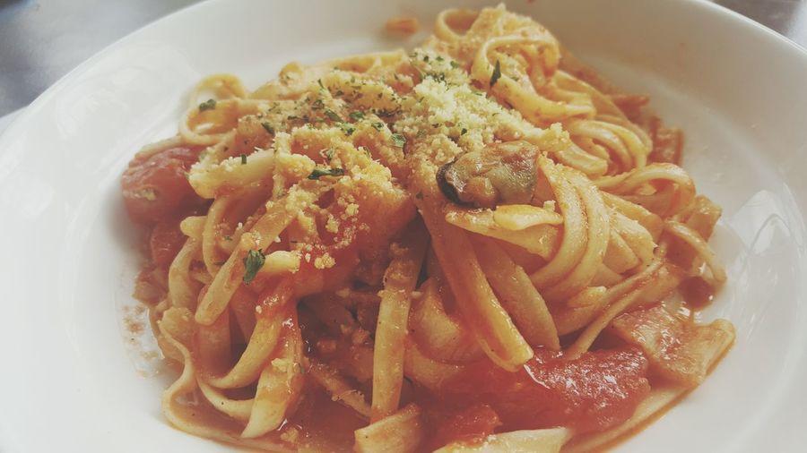 Pasta Seafood Linguine Theos Food Foodporn Food Photography