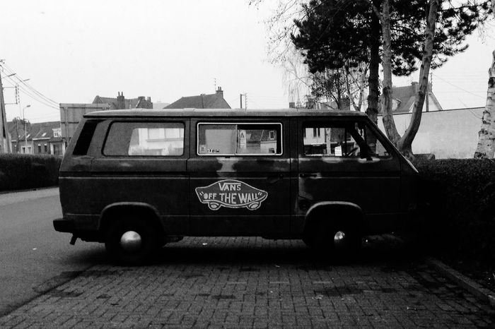 vans off the car Street Car Vans Photography Black And White Love Home Ipod Light View