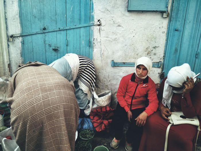 4 portaits Streetphotography Street Women Marocco Africa Portrait Portrait Of A Woman EyeEm Best Shots EyeEmNewHere EyeEm Gallery Woman Market Working Occupation Fish Market For Sale Bazaar Market Vendor Market Stall Street Market