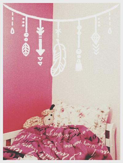 Dormir Sleep Bedroom Pink Pillow