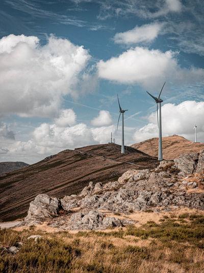 Wind farms in