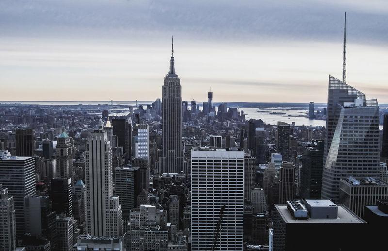 America Architecture City From Above  Manhattan New York New York City NY NYC Skyline Skyscraper Skyscrapers USA