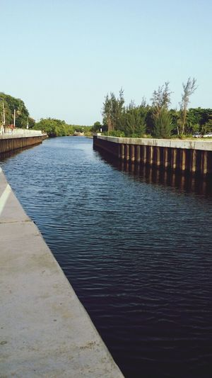 Water Canal Down By The Coast