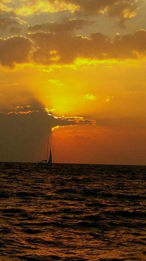 By M.C.❤ Sailing With Seagal Herzliya-Marina Taking Photos Enjoying Life Sunset Israel Travelling Autumn Wishing.. Perfect Skyporn Seascape