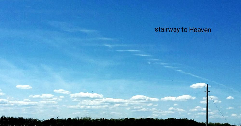 Taking Photos Relaxing Stairway To Heaven sky Enjoying Life Check This Out