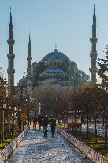 Sultan Ahmet Camii (Mosque) Istanbul Architecture Camii Day Islam Istanbul Ottoman Empire Outdoors Religion Sultanahmet SultanAhmetBlueMosque Sultanahmetcamii Temple Turkey Türkei Türkiye