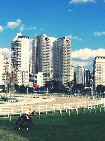 The Architect - 2016 EyeEm Awards Cityscapes City Life Blue Sky Grass Horse Riding Jockey Jockey Club Construction Citylife Skyscrapers Sao Paulo - Brazil