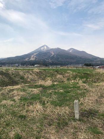 磐梯山 Mountain Sky Landscape Environment Scenics - Nature Beauty In Nature Plant
