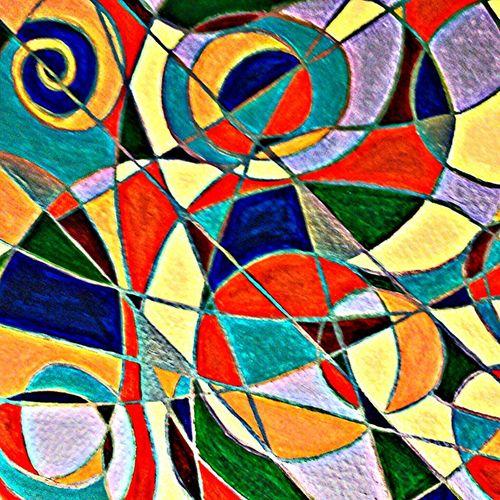 Abstract Art Original Art Acrylic Painting Tazalaz