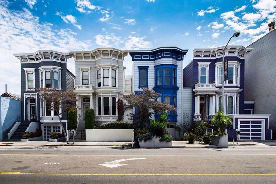 Little toy houses of San Francisco Sanfrancisco Architecture House The Architect - 2014 EyeEm Awards