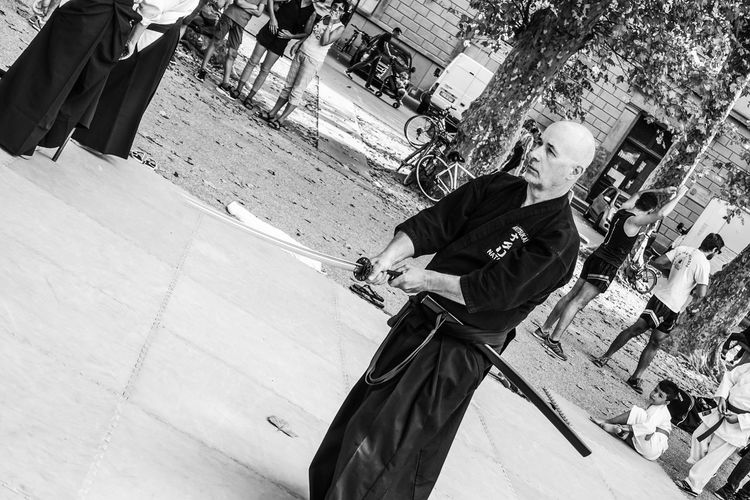 Iaido Martial Art Samourai Japan Sword Katana Iaido Martial Arts Japan Thai Chi Japanese Art Japan Martial Art Samurai Shogun Sword Men People Real People