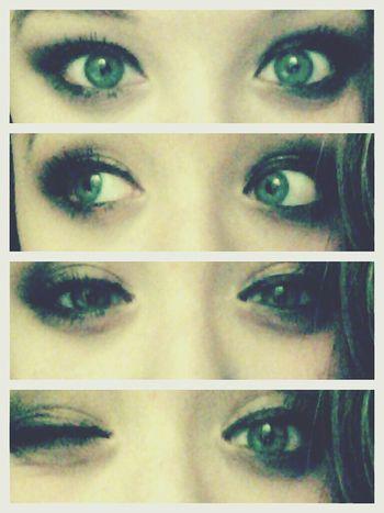 MyEyes♥ Teamgreeneyes Ahhh :3 Wink Wink ;)