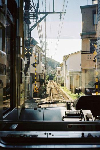 The Journey Is The Destination Trainphotography Travel Photography Kamakura Enoshima Enoden Japan Filmisnotdead Film Photography 35mm Film Kodak Portra Contax T3 Film Relaxing