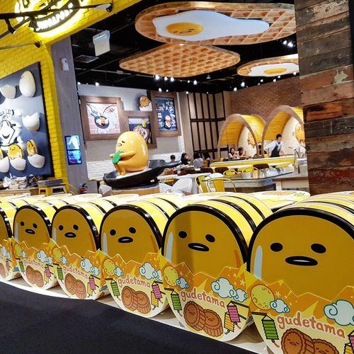 Gudetama Mooncake Boxes Singapore