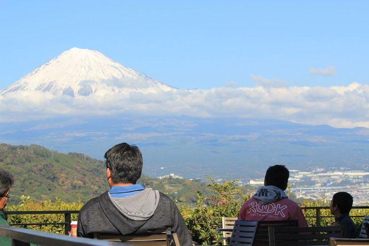 Mt.Fuji Starbucks Hanging Out Relaxing