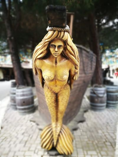 Statue Sculpture Spirituality Outdoors No People Day Ancient Civilization SIRENA Live For The Story The Creative - 2018 EyeEm Awards