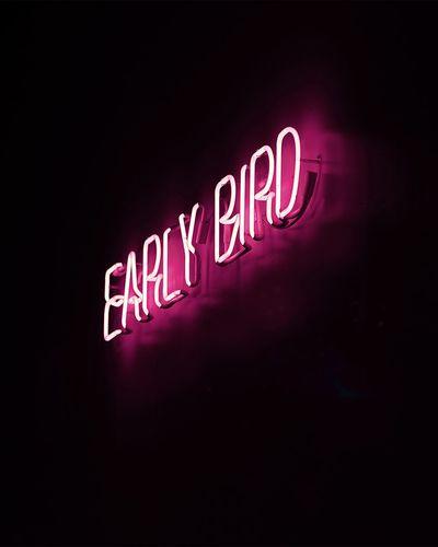 Early bird get