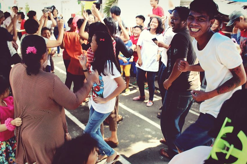 "I will post photos about some traditional attractions, celebrated Indonesia Independence Day, August 17th, 2015. Collected Community Fun Happy Independence Day Going The Distance Learn & Shoot: Layering What I Value Traditional Attractionwe call this, ""JOGED DANGDUT"""