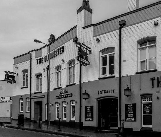 The Gloucester, Cambridge Street, Wellingborough, Northamptonshire Architecture Street Architecture Wellingborough Urban Black And White FUJIFILM X-T2 Town Monochrome Northamptonshire Monochrome Photography Pubs Northampton Pubs