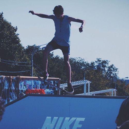 Faceslaces Facesandlaces Skate Boy People Park Nike Vscocam